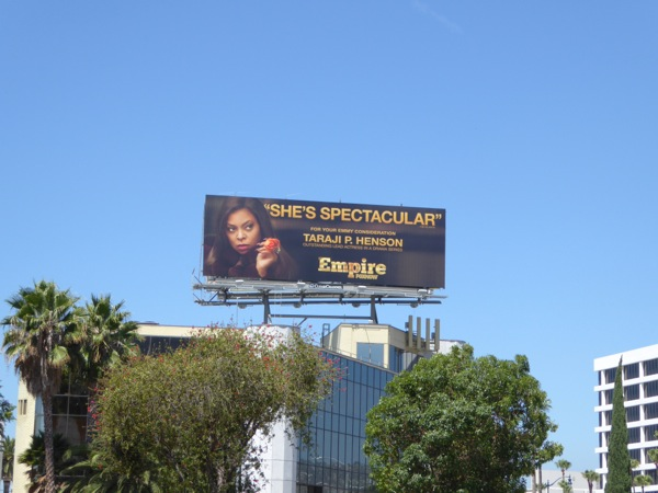 Empire She's spectacular 2015 Emmy billboard