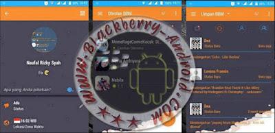 Ubdate BBM Mod Orange Innovation V7.0 Mix Flat New Versi 2.9.0.51 Apk