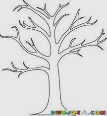 Thanksgiving Thankful Tree Coloring Page