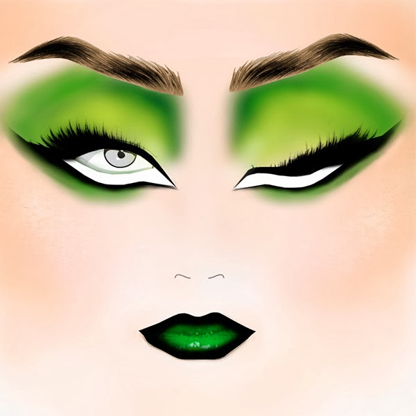 Illamasqua Halloween Makeup