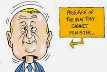 Stephen Harper cabinet bobble-head.