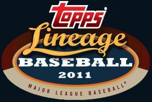 Topps Lineage Baseball Logo