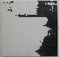Fernando Pessoa: Pintura Quadrículas 4