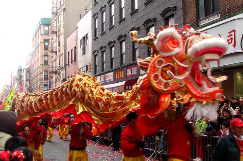 Chinese New Year Parade at NYC
