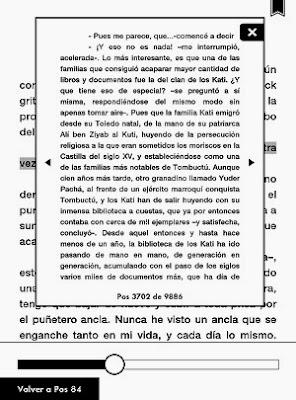 kindle paperwhite page flip navegacion por páginas
