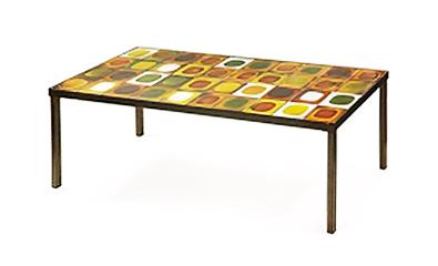 c ramique 50 les tables mod le plan tes de roger capron. Black Bedroom Furniture Sets. Home Design Ideas