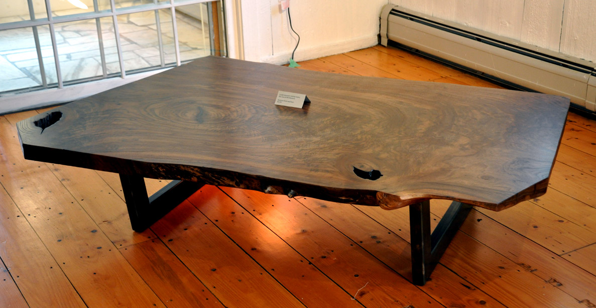 above is the bottom of the slab, below are a few other coffee tables from  the past . - Dorset Custom Furniture - A Woodworkers Photo Journal: Another