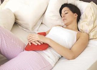 Problemas comuns durante a menstruação.