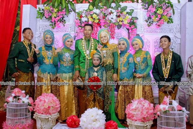 Wedding : Krekot & Agung || Fotografer : ( Klikmg3 Fotografi ) Fotografer Purwokerto
