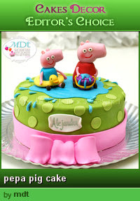 Edito'r Choice in CakesDecor