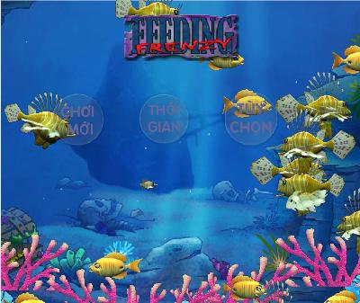 game mini cá lớn nuốt cá bé - Chơi game mini hay tại GameVui.biz
