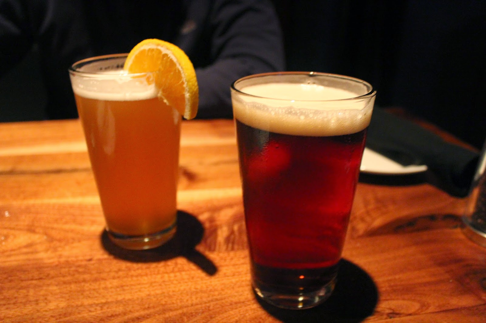 UFO White and Sam Adams OctoberFest at Del Frisco's Grille
