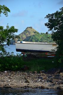 boat in Gros Islet