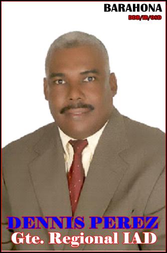 ING. AGR. DENNIS PEREZ JIMENEZ, GERENTE REGIONAL DEL IAD