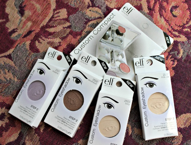e.l.f. Essential Custom Eyes Compact & Refill Pans in Wisteria Moondust Pink Ice and Ivory review