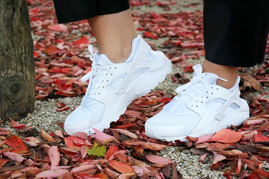 Nike Huarache Bianche Outfit