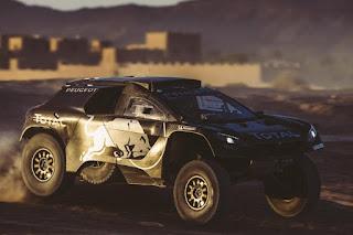 Peugeot 2008 DKR16 Front Side