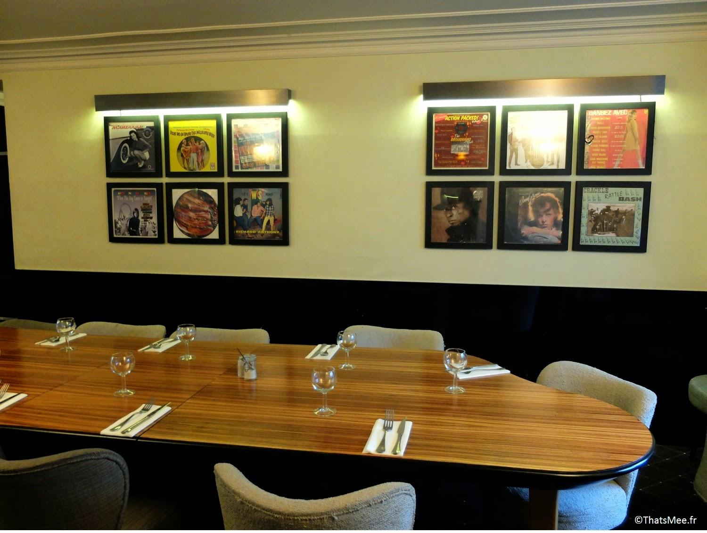 Restaurant viande carnivore viandard Chez Justine Paris 11eme déco