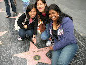 YM at Hollywood's Walk of fame 2008