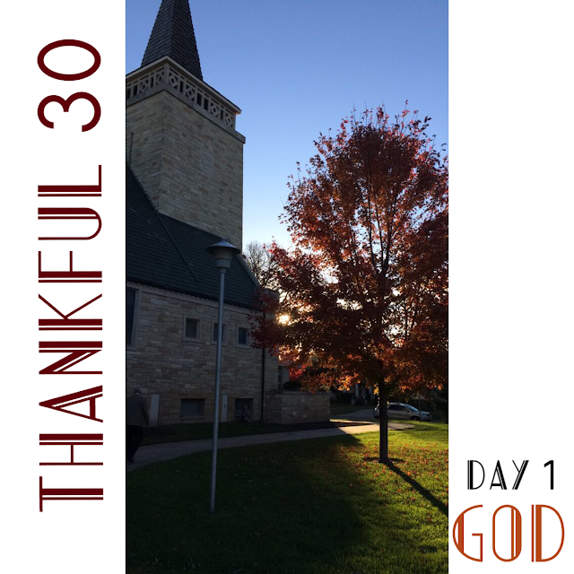 Thankful 30 Day 1 : Caroline's Cues