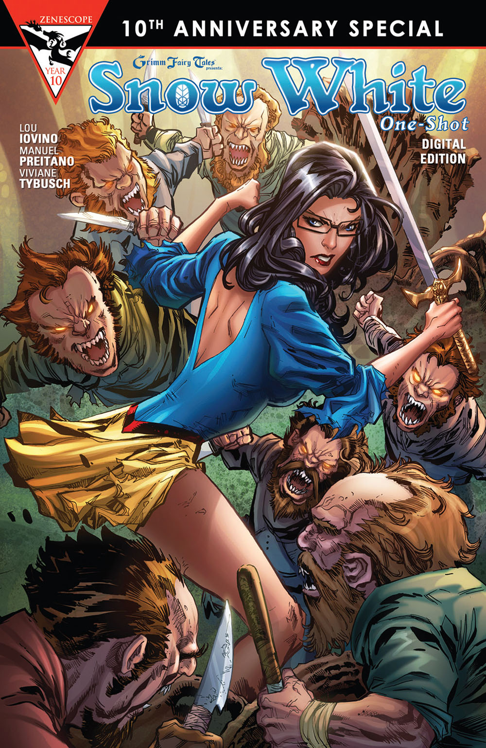 Uncategorized Online Fairy Tales grimm fairy tales presents 10th anniversary viewcomic reading special 001 2015