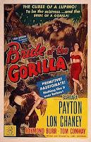 Portada película La novia del gorila