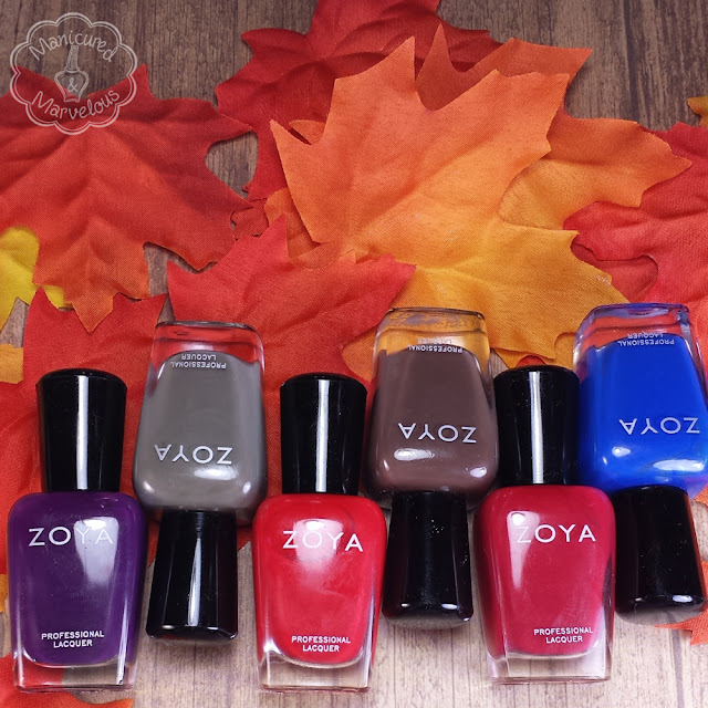 Zoya Focus Fall 2015 Swatches & Review