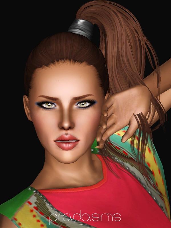 PradaSims' Newsea's BTW Hair Retexture  Newseahairretexpradasims