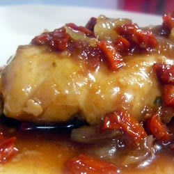 Pollo en Salsa de Cebollas