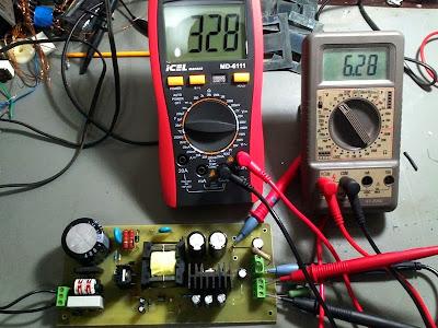 Fonte amplificador valvulado
