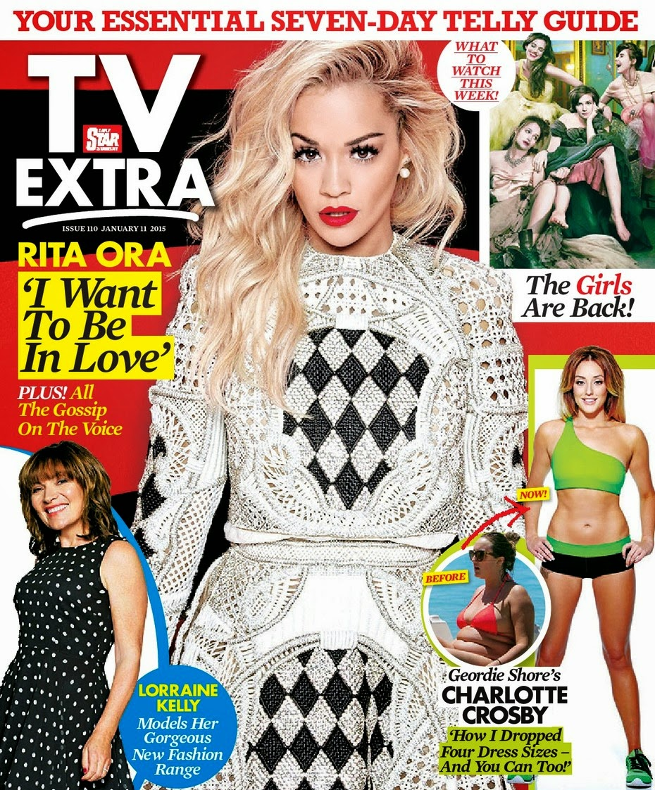 Rita Ora - TV Extra Magazine, January 2015