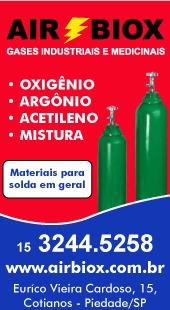 Gases industriais e medicinais
