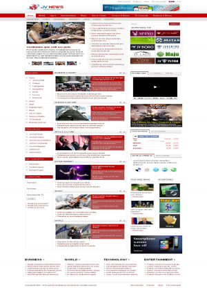 Share template JV News - Joomla 1.5
