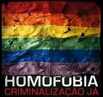 Homofobia é Crime!