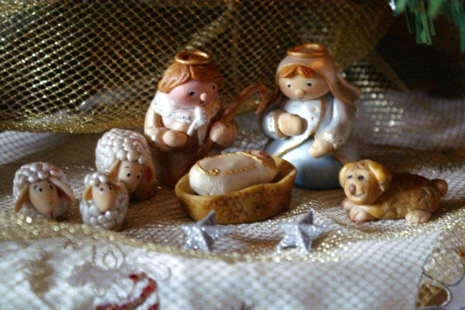 Popolare Laura's Sweet Creations: Bianco, oro, argento, shabby e romantico  WD24
