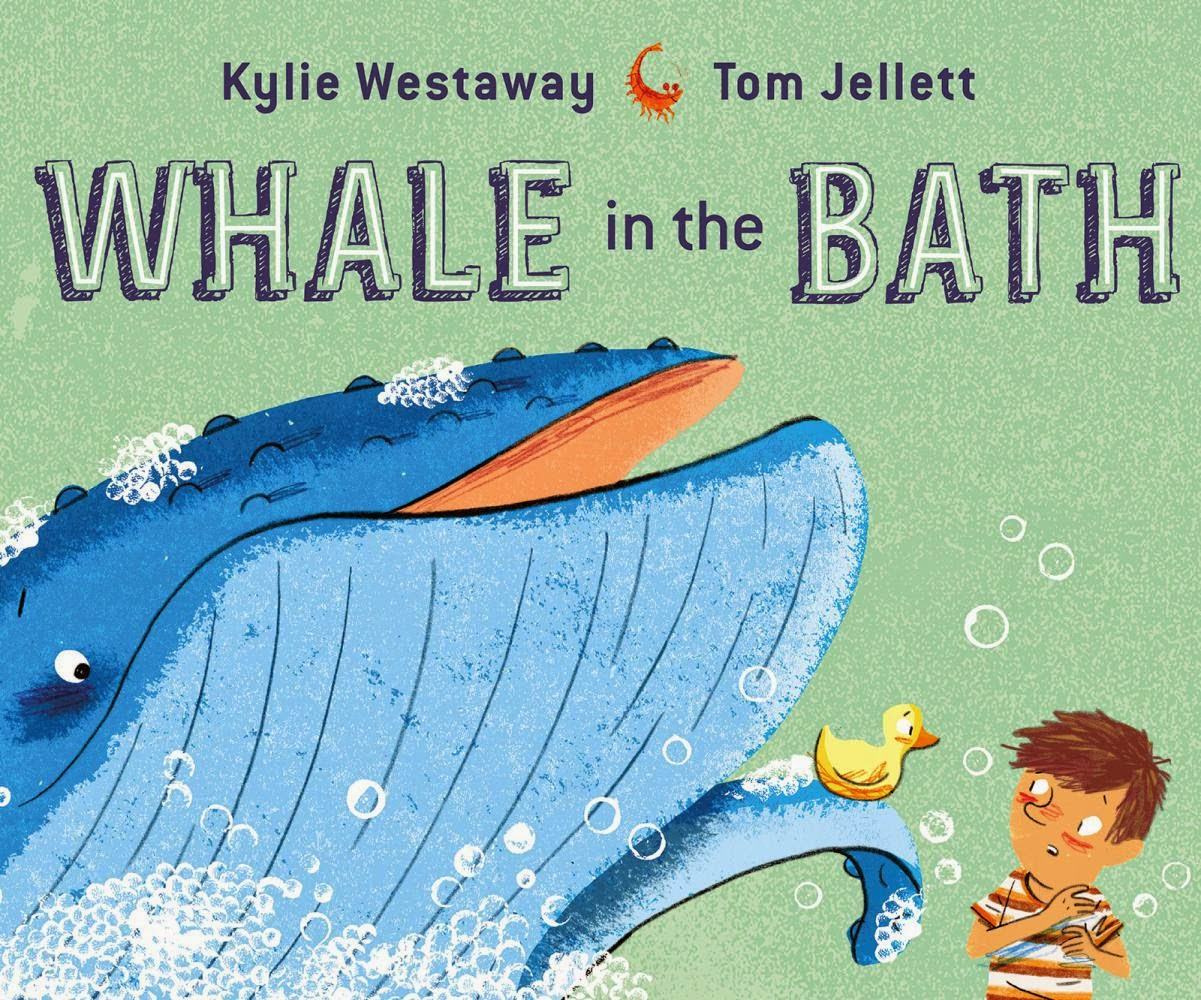 Kids 39 book review review whale in the bath for Children s fish book