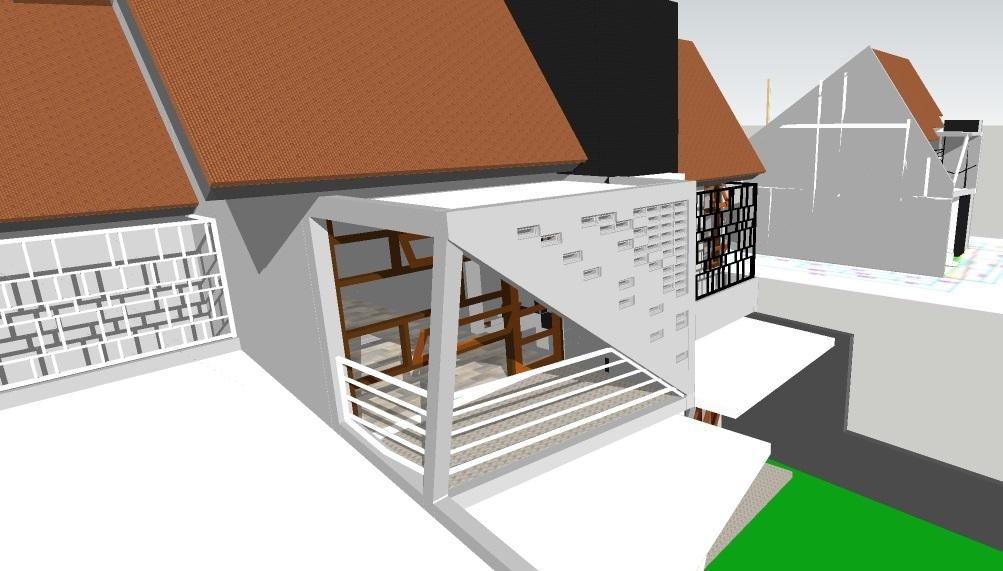 Desain Rumah Abu Ubaid, Kalimantan