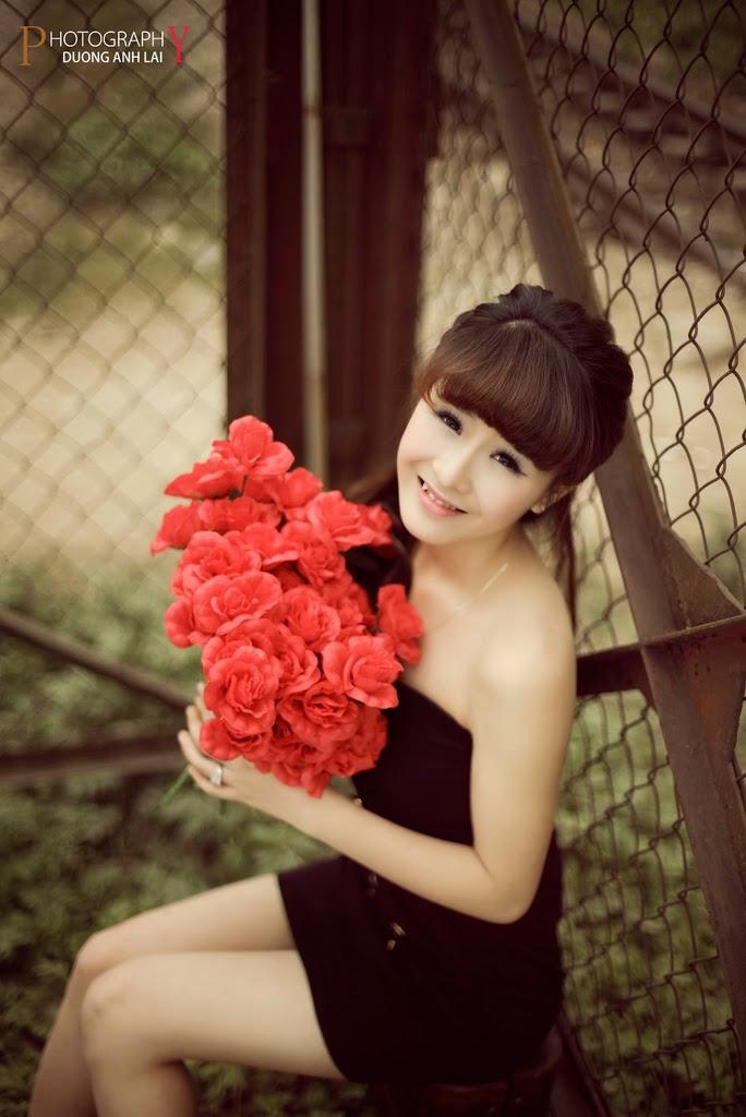 Ảnh đẹp girl xinh HD Việt Nam: Bóng hồng - Ảnh 17