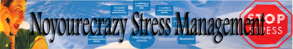 Noyourecrazy Stress Management