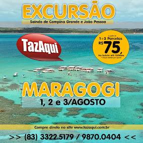 EXCURSÃO PRAIA DE MARAGOGI