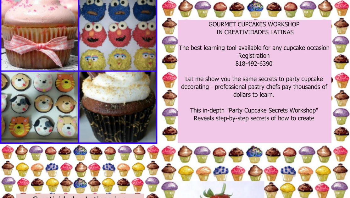 Cupcake And Cake Decorating Classes Los Angeles