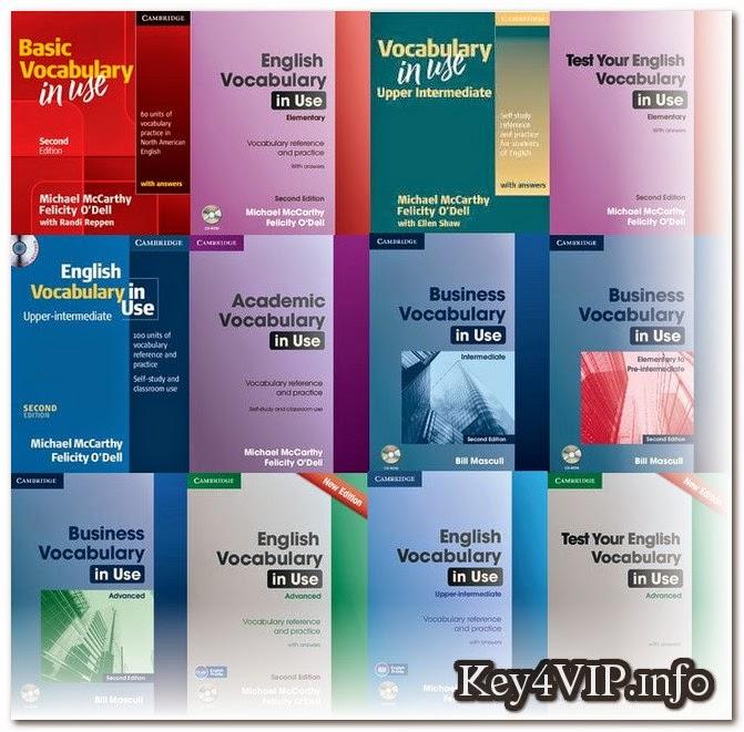 DVD giáo trình Cambridge English Vocabulary in Use The Complete Series mới nhất