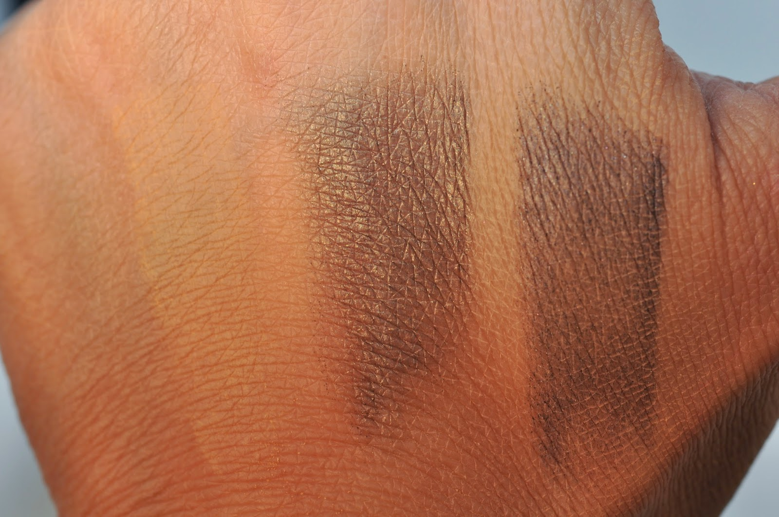 MAC By Request Eye Shadow: MAC Butterscotch, Fiction, Diesel