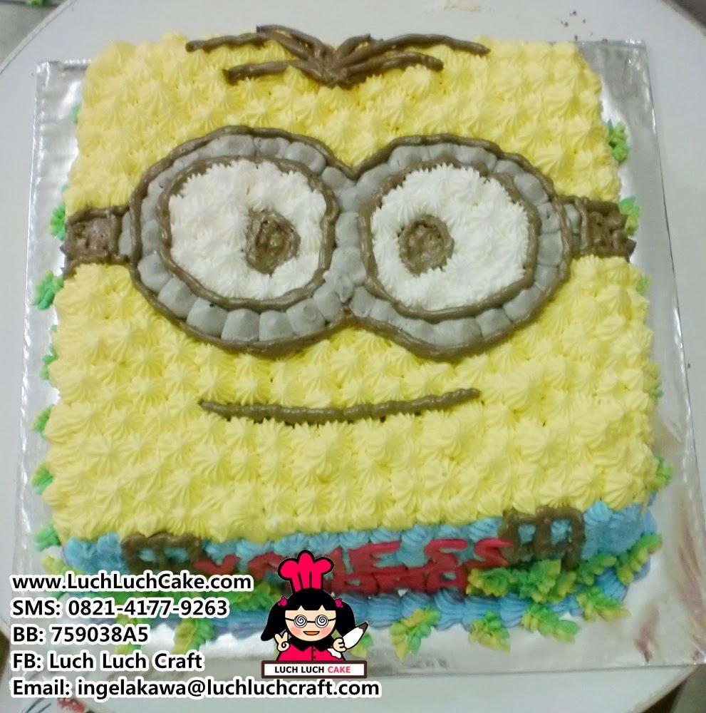 Kue Tart Minions Daerah Surabaya - Sidoarjo