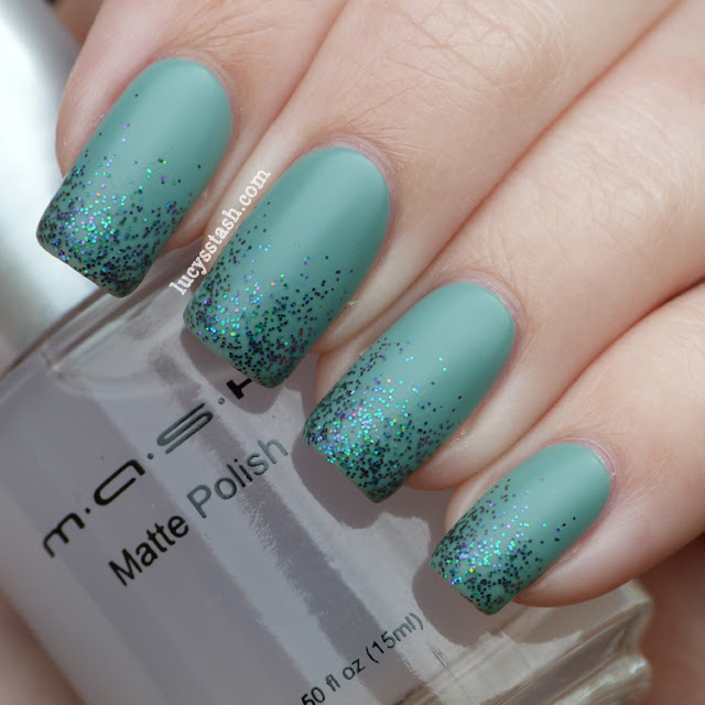Lucy's Stash - Zoya Bevin with Ozotic Elytra and MASH Matte polish