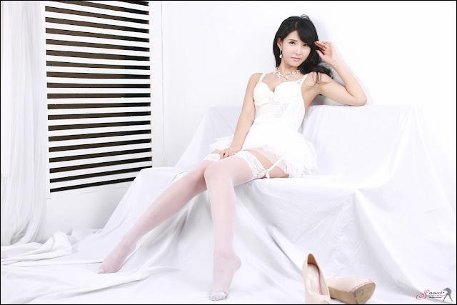 1 Cha Sun Hwa - Sexy White -Very cute asian girl - girlcute4u.blogspot.com