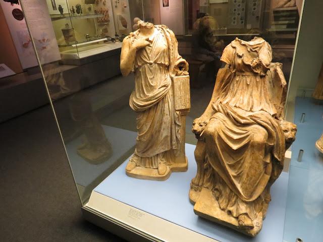 British museum sculpture