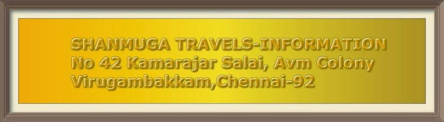 SANMUGA TRAVELS IN CHENNAI,Madurai,Trichy,Coimbatore,Bangalore,Hyderabad,Ernakulam,Palani,Mumbai