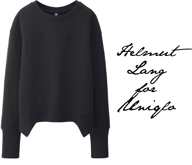 Helmut Lang for Uniqlo