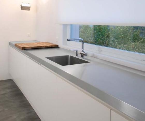 Fregaderos bajo encimera c modos y elegantes cocinas - Tipos encimera cocina ...